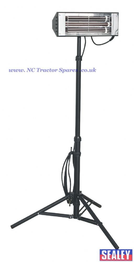 Infrared Quartz Heater - Tripod Mounted 1500W/230V